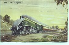 Streamlined Class B17 61659 EAST ANGLIAN 1950s Photochrom postcard