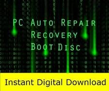 Windows XP-7-8-8.1-10 PC Auto Repair Recovery Boot Disc (Download Only)