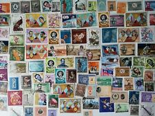 400 Different Haiti Stamp Collection