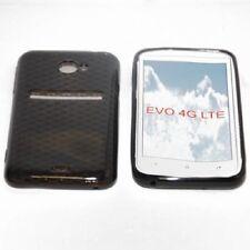 Cubierta para Htc Evo 4G LTE, EVO 4G, in silicone TPU transparente Negro