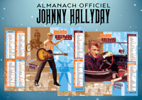 Calendrier Almanach La Poste Johnny Hallyday 2020