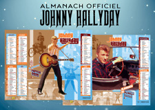 Calendrier 2020 Johnny Hallyday Officiel.Calendrier Johnny Hallyday Dans Calendriers Et Almanachs De