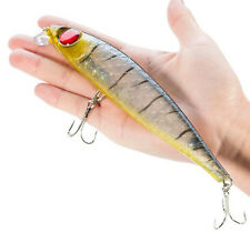 1PCS Wobbler Big Crankbait Fishing Lure Minnow Hard Bait Trolling Peche Bait 39g