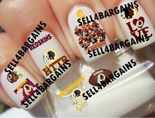 NFL WASHINGTON REDSKINS FOOTBALL LOGOS》10 Different Designs》Nail Art Decals