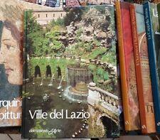 VILLE DEL LAZIO Belli Barsali De Gregorio 1^ 1983 DOCUMENTI D'ARTE DE AGOSTINI
