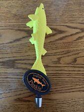"Dogfish Head Punkin' Wood Beer Tap Handle Micro Brew 13"" Shark Fish"