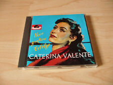 CD Caterina Valente - Ihre Großen Erfolge - Polydor - 16 Songs incl. Tipitipitip