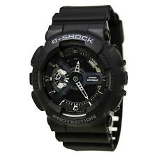 Casio GA110-1B Men's G-Shock Extra Large World Time Alarm Anti-Magnetic Watch