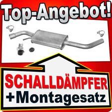 Mittelschalldämpfer VW TRANSPORTER T4 SWB 1.9D 2.0 2.4D 2.5 90-95 Montagesatz