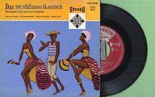 FERNANDEZ PRAY Eso Es El Amor / TELEFUNKEN SUX-4910 Pressing Germany 1960 EP VG