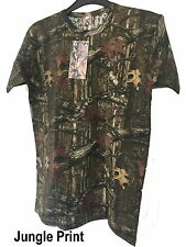KidsCamouflage Army Military Combat T Shirt Top 3-13 Years Boys Girls Paintball