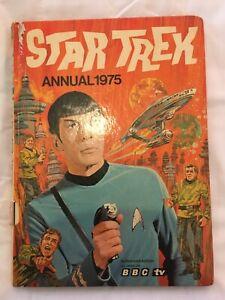 Star Trek Book Annual 1975 fair condition 1970's x