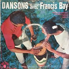 French 10'' 25 cm LP Latin beats Francis Bay A la Salud Shortnin'bread cha cha