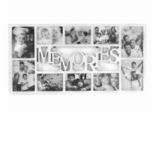 PORTAFOTO MULTIPLO MEMORIES BIANCO 10 POSTI