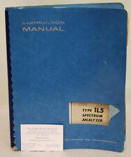 Tektronix Type 1L5 Spectrum Analyzer Instruction Manual