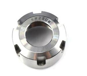 1 pc ER25 Tool Holder Nut UM Type Chuck CNC Milll Router Machine ER 25 UK Seller