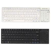 Ultra Slim Bluetooth 3.0 Mini Keyboard TouchPad Mouse for iOS Windows Android