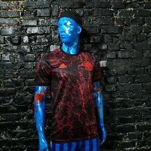 Spain Team Training Jersey Shirt 2020-2021 Adidas FS3480 Camiseta Mens Size M