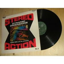 HENRI RENE AND HIS ORCHESTRA dynamic dimensions - stereo action n°3 RCA Lp 1968