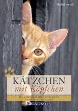 Kätzchen mit Köpfchen von Marlitt Wendt (2012, Kunststoffeinband)
