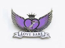 Love Bars Gymnastics Lapel Pin - Spectacular New Design