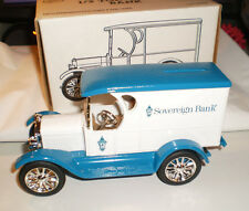 Ertl Die-Cast 1923 Chevy Delivery Van Sovereign Bank