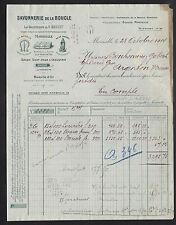 """MARSEILLE (13) SAVONNERIE de la BOUCLE / SAVONS """"U. GONCET"""" en 1914"""