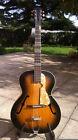 Guitare de Jazz Vintage  An 50's