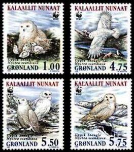 GREENLAND Sc. 344-7 WWF-Owls 1999 MNH booklet set