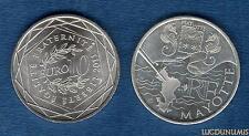 10 Euro Série des Régions 2011 Drapeaux Argent SUP - Mayotte