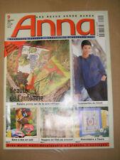 Anna Burda Ouvrages Manuels N° 9 1999 Peinture sur soie Tricot Cuir Abécédaire