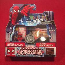 Marvel Ultimate Spider-Man Nick Fury MiniMates Figures Toys Toys R Us Exclusive