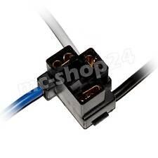 H4 Stecker gewinkelt Anschluss Fassung Sockel Lampensockel P43t Kabel KFZ plug