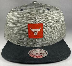Mitchell and Ness NBA Chicago Bulls Fashion Color Brushed Melange Snapback Hat