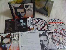 MARILYN MANSON / Lest We Forget /JAPAN LTD 2CD&DVD OBI digipack
