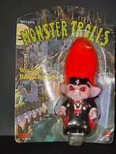 "Troll Doll 5"" Galoob / Ace Halloween Vampire Dracutroll in Pack"