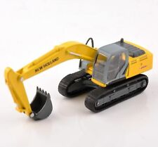 New Holland E215B Diecast 1:87 Scale Engineering Car Model Yellow Excavator Toys
