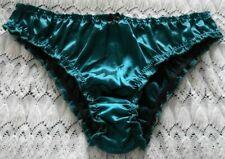 Panties underwear knickers Green sexy Girls pretty Med teen sissy shiny gloss 10