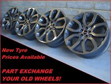 "2757 Genuine 20"" 5004 Range Rover Evoque Land Rover Discovery Sport Alloy Wheels"