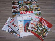 Lot de 7 Prospectus/Brochure/Prospekt agricoles/tracteurs ALTEC (486)