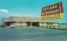 Skyland Restaurant and Lounge in Perry FL Roadside Postcard