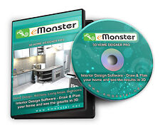 3d CAD Hogar & Interior Diseño, planificación para cocina, cuarto de baño ,