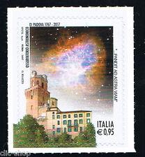 ITALIA 1 FRANCOBOLLO OSSERVATORIO ASTRONOMICO DI PADOVA 2017 nuovo**