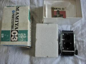 Mamiya C3 TLR camera body only , boxed
