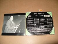Fats Waller - 1937-1938 (1996) cd is Ex+/Booklet is very good + condition