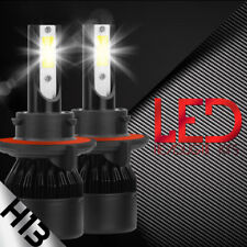 2x H13 9008 LED Headlight Bulb Canbus Error Free Anti Flicker Resistor Canceller