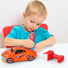 Kids Educational Toys Self Assembly Take Apart Racing Car 2 in 1 Kit Xmas Gift