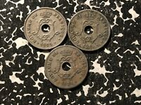 1904 Belgium 10 Centimes (3 Available) Circulated (1 Coin Only)