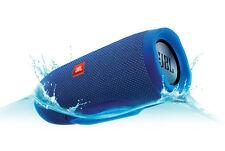 JBL Charge 3 Waterproof Portable Bluetooth Speaker (Blue) 20 Hour Playtime!!