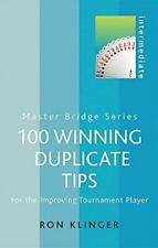 100 Winning Duplicate Tips: For the Improving Tournament Player (MASTER BRIDGE),